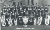 Creswell Colliery Band, 1925