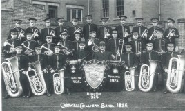 Creswell Colliery Band, 1925